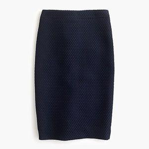 J Crew No. 2 Pencil® skirt in matelasse